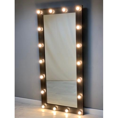 Гримерное зеркало 180х80 с подсветкой по контуру